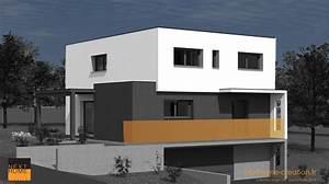 nouveau projet de maison en toitplat sur garage accol de With photo maison toit plat 4 de maison originale avec piscine toit plat e4