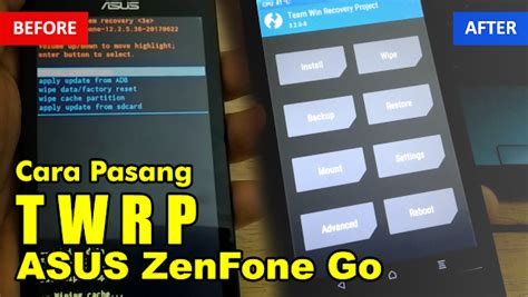 Switch off phone and together press volume down and power button it will boot it in fastboot mod. Cara Pasang TWRP Asus Zenfone Go X014D - WijayanaPay Tekno