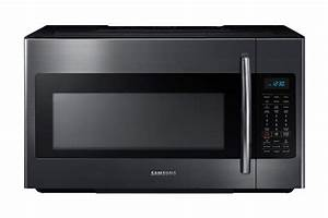 Samsung Me18h704sfg  Aa 1 8 Cu  Ft  Over-the-range Microwave With Sensor Cooking