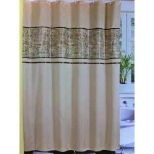 maze fabric shower curtain 12 resin shower hooks vinyl