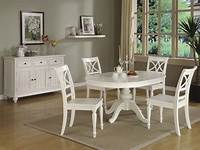white kitchen table and chairs round-white kitchen table sets | Round White Kitchen Table ...