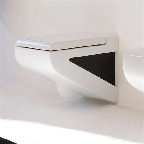 wand wc schwarz ceram wand wc la fontana wei 223 schwarz extravagante 246 rtchen badezimmer schwarz