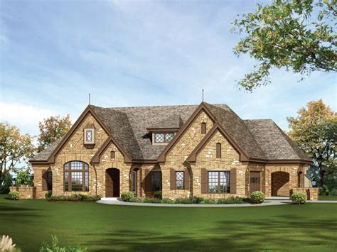 Stone One Story House Plans For Ranch Style Homes One