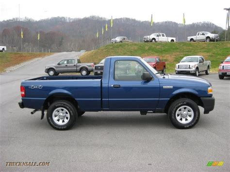 2008 ford ranger xl regular cab 4x4 in vista blue metallic photo 5 a90222 truck n sale