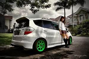 Japanese Custom Cars  Daily Touring Honda Fit Ge8