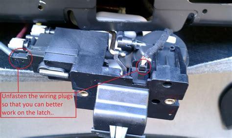 trunk soft close trunk assist problems