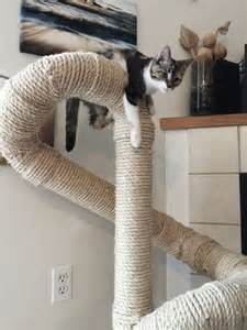 cat perch sisal cat tree by catastrophicreations on etsy things of