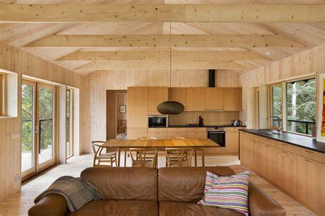 diseno de casa pequena de madera fachada planos interior