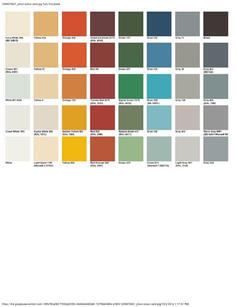 paint colors jotun jotun marine paint colour chart by victor chow issuu
