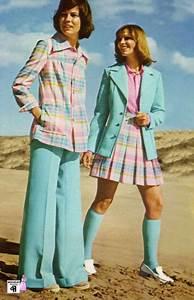 70er Jahre Mode Damen