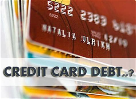 credit card debt relief options