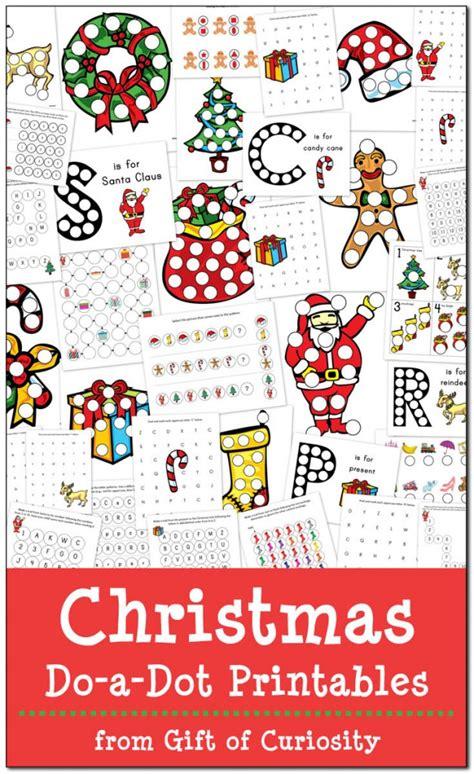 Free Christmas Dotadot Printables  Free Homeschool Deals