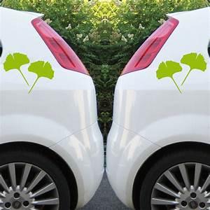 Auto Fenster Folie : 4 aufkleber tattoo 15cm gr n voll ginko gingko blatt auto ~ Kayakingforconservation.com Haus und Dekorationen