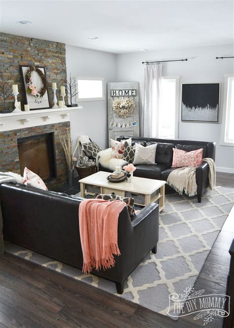 and black themed living room ideas black blush pink s day home decor ideas diy