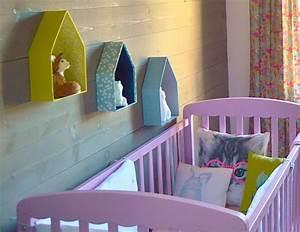 idee deco chambre bebe fait maison visuel 5 With deco chambre fait maison