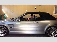 2006 BMW E46 Convertible Top Trouble going down YouTube