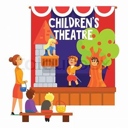 Theatre Scene Play Romeo Children Stage Performed