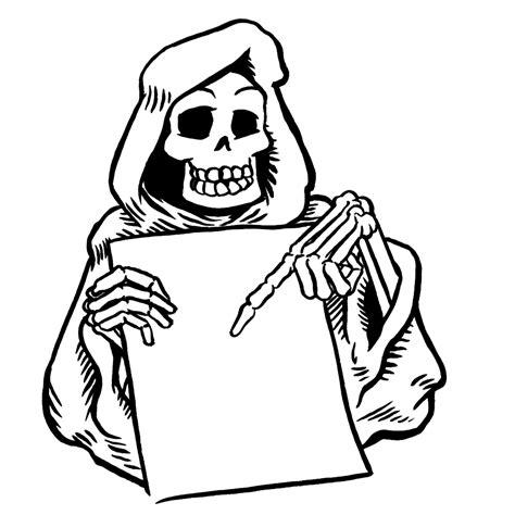Kleurplaat Skelet Mens by Leuk Voor Een Skelet