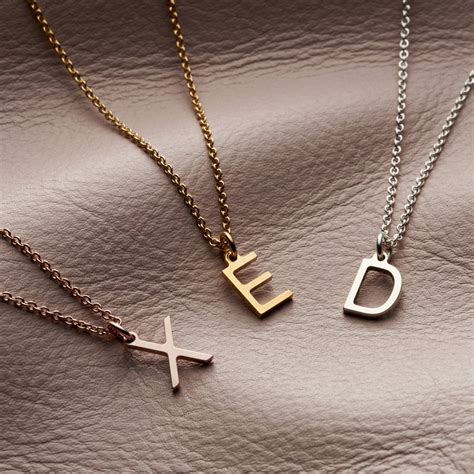 Letter Initial Necklace By Posh Totty Designs ...