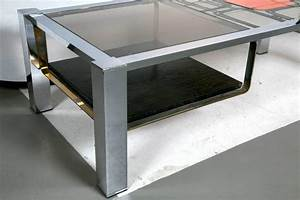 Bi level coffee table for sale at 1stdibs for 3 level coffee table