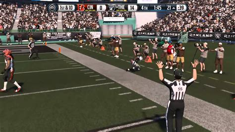 Antonio Brown kicks defender- Madden 15 - YouTube