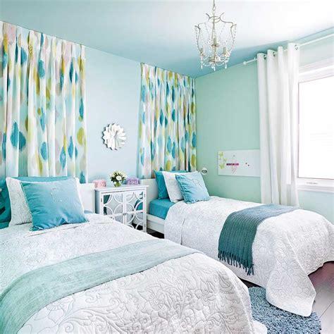 couleur de la chambre à coucher chambre turquoise et jaune