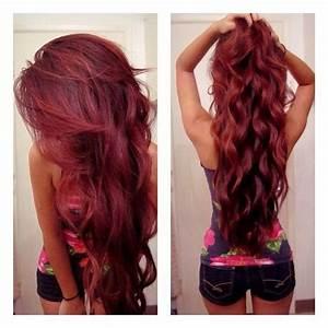 Acheter Coloration Rouge Framboise : jolie coloration cheveux rouge framboise ~ Melissatoandfro.com Idées de Décoration
