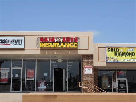 baja insurance baja auto insurance grand prarie sign company