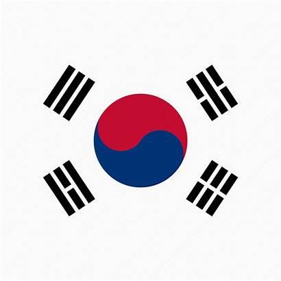 Flag Korean Kr Korea Icon South Icons