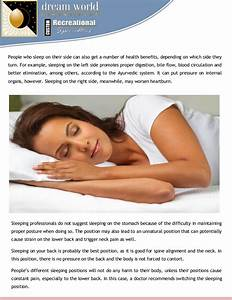 sleeping positions and back or neck pain With best sleeping position for neck