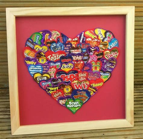 Download 84 chocolate wrapper free vectors. Framed Artwork Made using Recycled Sweet and Chocolate Wrappers Handmade by mylittlesweethearts ...