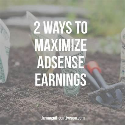 Adsense Earnings Surefire Maximize Ways Website Monetizing