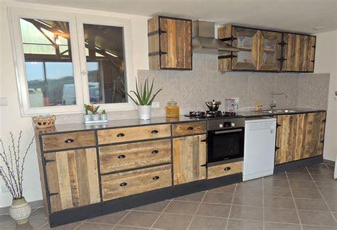 cuisine palette attirant meuble cuisine en palette 12 finest meuble