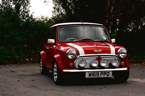 My Classic Mini Cooper Looking Shiny And Pretty!