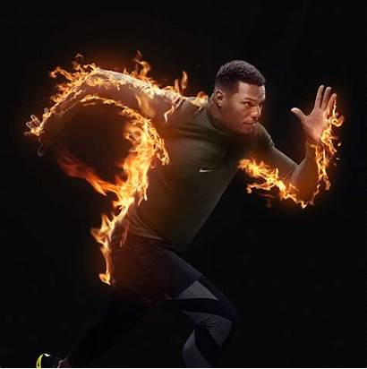 Fire Photoshop Action Animated Runner Effect Smoke