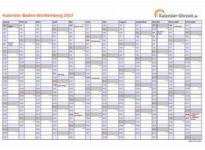 Kalender Juni 2017 Zum Ausdrucken : feiertage 2017 baden w rttemberg kalender ~ Whattoseeinmadrid.com Haus und Dekorationen