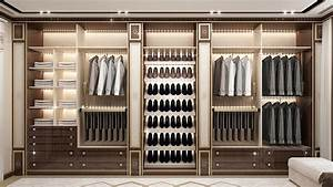 Beautiful Dressing Room Design in Dubai by Luxury