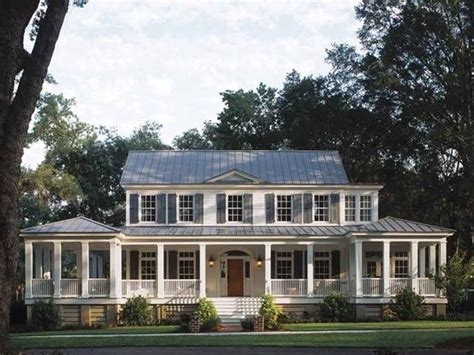 country home with wrap around porch for the home