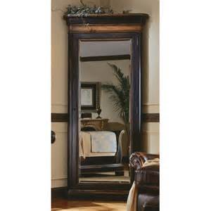 floor mirror armoire hooker furniture preston ridge floor mirror with jewelry armoire reviews wayfair