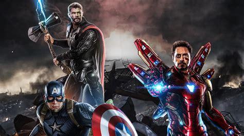 avengers endgame captain america thor iron man