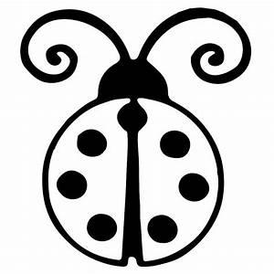 Ladybug Clip Art Black And White | www.pixshark.com ...