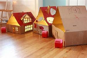 13 Cardboard Dollhouse Plans