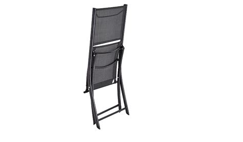 miami 2 folding bistro chairs charcoal garden