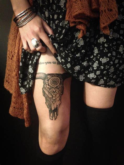 bull skull tattoos designs ideas  meaning tattoos