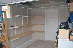 Meuble De Garage : meuble rangement garage nice etagere rangement garage avec ~ Melissatoandfro.com Idées de Décoration