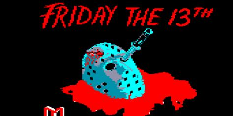 Horrorpedia Friday The 13th The Computer Game 1985