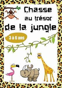 Jeux De Jungle : chasse au tr sor des animaux de la jungle cache cache ~ Nature-et-papiers.com Idées de Décoration