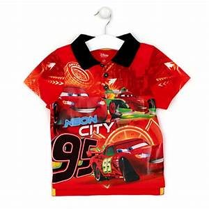 Cars Neon Polo Shirt For Kids
