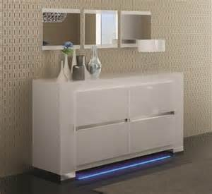 designer sideboards elegance 2 door white high gloss sideboard opt led lighting