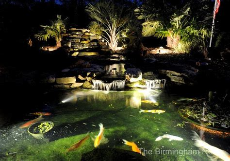 koi pond lighting ideas 1000 images about led multi color landscape accent lighting w remote controls on pinterest